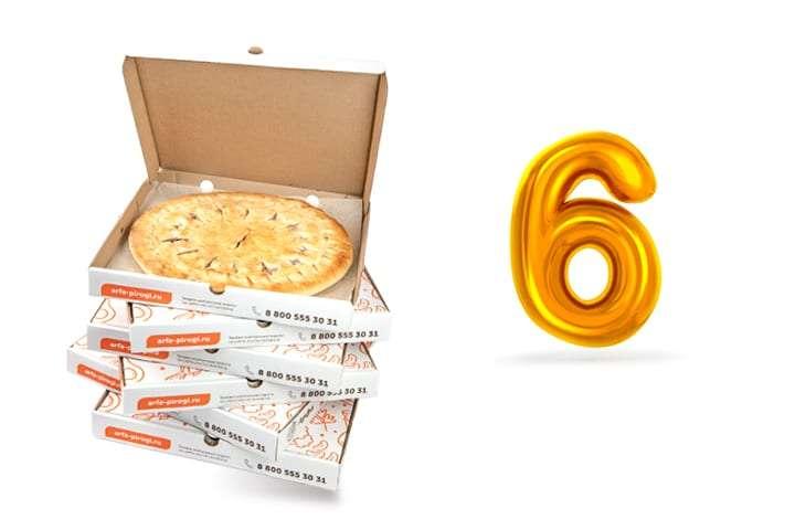 Сет 6 пирогов. Арфа